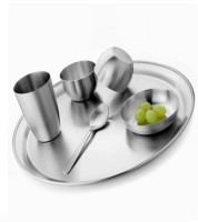 Sssilverware SS-DI-SET-06 Pack Of 6 Dinner Set (Stainless Steel)