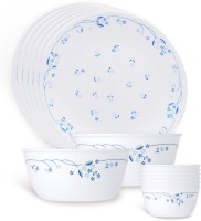 Corelle Livingware Pack Of 14 Dinner Set (Glass)
