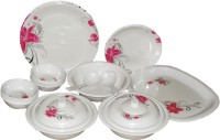 Charnalia Opal Pack Of 32 Dinner Set (Melamine)