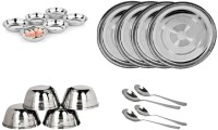 Sssilverware SSS-DI-set-16t-18 Pack Of 18 Dinner Set (Stainless Steel)
