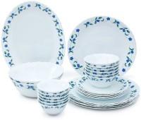LA OPALA AMBER LILY Pack Of 27 Dinner Set (Ceramic)