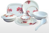 Lumineck Omega Pack Of 34 Dinner Set (Melamine)
