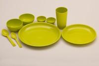 Cutting Edge Super Combo 51 Pc Dinner Set Light Green Pack Of 51 Dinner Set (Polypropylene)