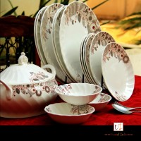 Unravel India Pack Of 21 Dinner Set (Porcelain) - DNSE6HUNWGVCDDQD
