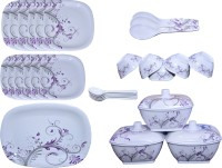 Bajaj Pack Of 40 Dinner Set (Melamine)