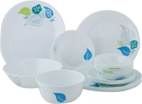 Corelle India Collection Foliage Dinner Set 21-FE (Glass, White, Blue)