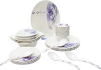 Tibros Pack Of 32 Dinner Set (Melamine)