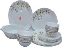 La Opala Floral Magic Pack Of 27 Dinner Set (Ceramic)