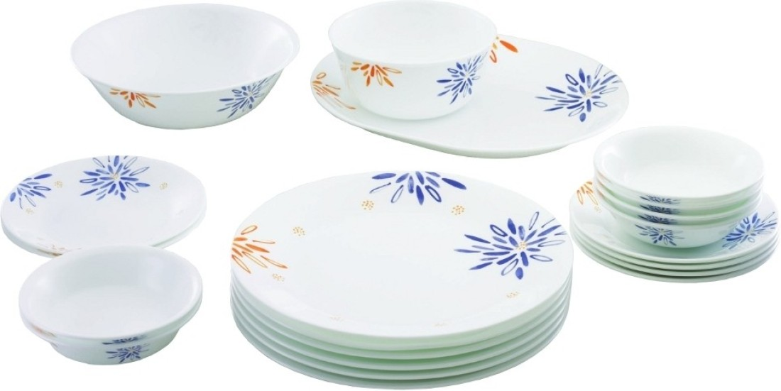 Corelle Pack Of 21 Dinner Set Price In India Buy Corelle Pack Of 21 Dinner