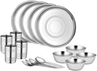 King International Pack Of 16 Dinner Set (Stainless Steel)