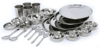 SSSILVERWARE SS-D-set-24 Pack Of 24 Dinner Set (Stainless Steel)