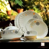 Unravel India Pack Of 21 Dinner Set (Porcelain)