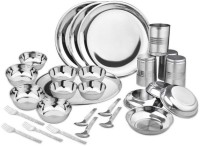 King International Pack Of 28 Dinner Set (Stainless Steel)