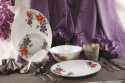 ROXX Florette Dinner Set Of 21 Pcs ROPB0183 - Ceramic, Multicolor
