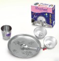 Devidayal Baby Set Babs - Stainless Steel, Silver