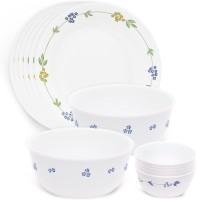 Corelle Livingware Pack Of 14 Dinner Set (Glass) - DNSE8E8NQKFPDQND