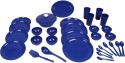 Cuttingedge Dinner Set For 4. Set Consists Of 4 Dinner Plates, 4 Quarter Plates, 4 Big Bowls, 4 Small Bowls, 4 Table Spoons, 4 Teaspoons, 4 Tumblers, 1 Rice Plate, 1 Rice Spoon, 1 Daffodil Cook N Serve, 1 Deep Curry Ladle. 32 Pc Set With The Option Of Gif