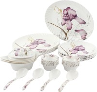 Tibros Pack Of 32 Dinner Set (Melamine) - DNSE8YYMQ3FJGSRG