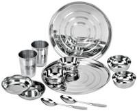 Jaipan Dinner Set Pack Of 12 Dinner Set (Stainless Steel)