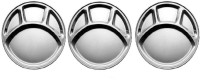 SSSILVERWARE SS-4-comp-03 Pack Of 3 Dinner Set (Stainless Steel)