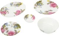 Uvam Flowery Pack Of 21 Dinner Set (Ceramic)