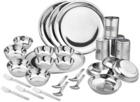 Sssilverware SS-DI-28-PCS Pack Of 28 Dinner Set (Stainless Steel)