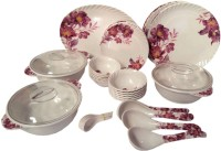 Shreem@2015 Pack Of 41 Dinner Set (Melamine)