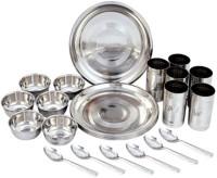 Sssilverware SS-24-PCS-24 Pack Of 24 Dinner Set (Stainless Steel)