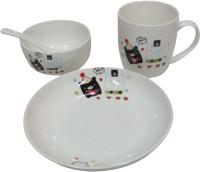 Day International Baby Pack Of 4 Dinner Set (Ceramic)