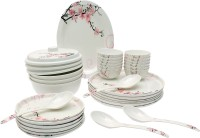 Tibros Pack Of 32 Dinner Set (Melamine) - DNSE8FW4C7KUZYYH