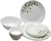 La Opala Floral Magic Pack Of 13 Dinner Set (Ceramic)