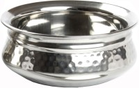 King Traders TULSI - Stainless Steel Serving Handi/Designer Serveware Large Size With Dimention 20 Cm Dinner Set (Copper)