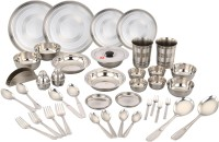 Klassic Vimal Klassic Vimal 42 Pcs Dinner Set Pack Of 42 Dinner Set (Stainless Steel)
