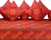 GRJ India Cotton Printed Diwan Set