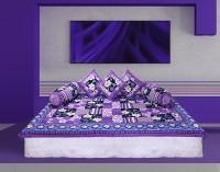 GRJ India Cotton Printed Diwan Set - DSTE7VHEFY3AZGYE