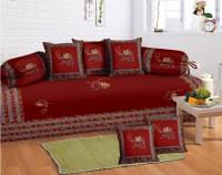 Lali Prints Cotton Floral Diwan Set - DSTEB2UVF4JYUHFA