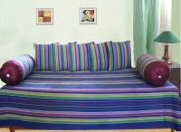 Dekor World Multi Stripe Diwan Set (Pack Of 8) - DSTE4NS4VMYHSHXN