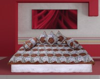 GRJ India Cotton Printed Diwan Set - DSTE7VHEJXGBPSFS