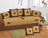 Lali Prints Cotton Floral Diwan Set - DSTEB2UVNEWGQPHW