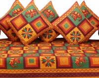 GRJ India Cotton Printed Diwan Set - DSTE88GQYNGJEPTF