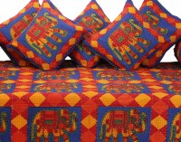 GRJ India Cotton Printed Diwan Set - DSTE88GQVHRAXUAN