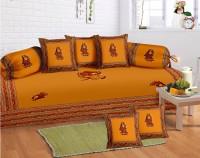 Lali Prints Cotton Floral Diwan Set - DSTEB2UVA7BGQZR6