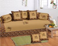 Lali Prints Cotton Floral Diwan Set - DSTEB2UVZKZHUZZB