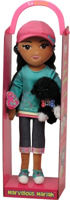 Ty Dolls & Doll Houses Ty Marvelous Mariah with Hat and Dog