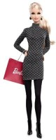 Barbie Mattel Barbie Collector The Look Collection City Shopper Doll With Grey Dress (Multicolor)