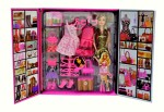 ES KO Dolls & Doll Houses ES KO Party Girl Doll and Her Personal Style Wardrobe Set Fun Fashion Princess Holiday Toys for Kids