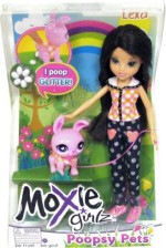 Moxie Girlz Dolls & Doll Houses Moxie Girlz Girlz Poopsy Pet Doll Lexa