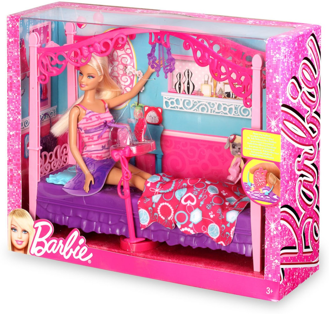 barbie glam bedroom furniture and doll set x7941 barbie glam