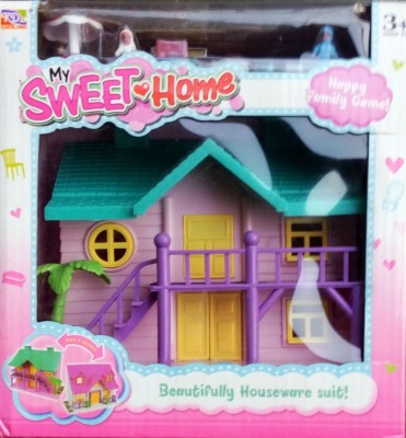 Ptc Sweet Home Doll House Multicolor Best Deals With Price