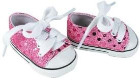 Sophia's 18 Inch Sneakers Light Pink Glitter Sneakers Shoes Fit 18